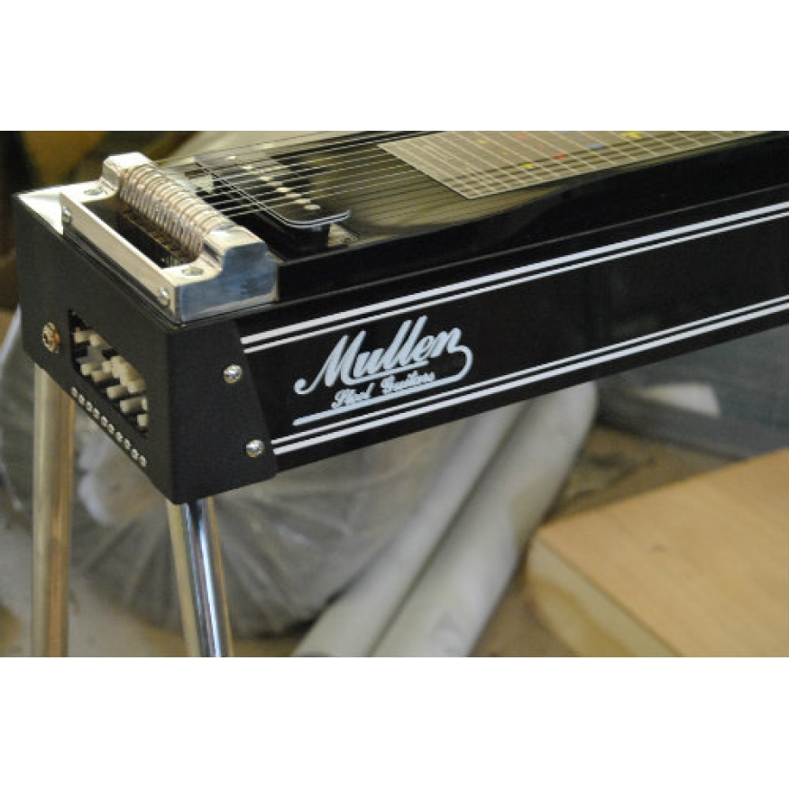 mullen s10 discovery pedal steel guitar in black with hard case at promenade music. Black Bedroom Furniture Sets. Home Design Ideas