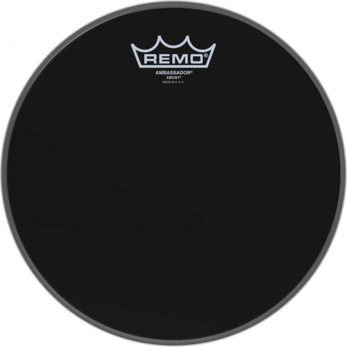 "Remo Ambassador 10"" Ebony Batter Top Head (ES001000)"