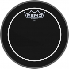 "Remo Pinstripe 8"" Ebony Batter Top Head (ES0608PS)"
