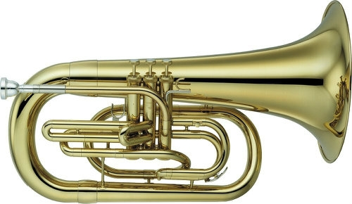 Yamaha Marching Euphonium - 202M Bb Model with Case & Mouthpiece