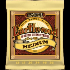 3 Sets of Ernie Ball Earthwood 2002 80/20 Bronze Acoustic Guitar Strings 13-56
