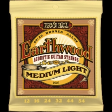 3 Sets of Ernie Ball Earthwood 2003 80/20 Bronze Acoustic Guitar Strings 12-54