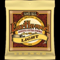 3 Sets of Ernie Ball Earthwood 2004 80/20 Bronze Acoustic Guitar Strings 11-52