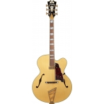 D'Angelico Excel EXL1 Single Cut Hollow Body Archtop in Natural