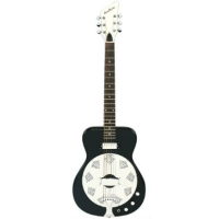 Eastwood Airline Folkster Resonator Guitar, Black, Secondhand