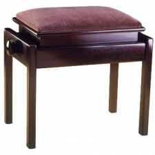 English Made Single Adjustable Piano Stool