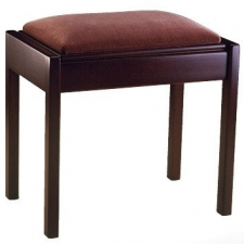 English Made Single Piano Stool With Box