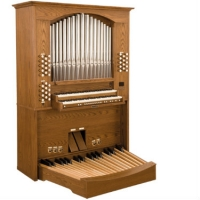 Viscount Envoy Positive Classical Organ With 32 Note Pedalboard & Bench