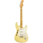 Fender Eric Johnson Thinline Stratocaster, Vintage White