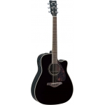 Yamaha FGX720SC Electro Acoustic Guitar in Black