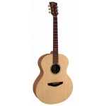 Faith FKN Naked Series Neptune Small Jumbo Acoustic Guitar