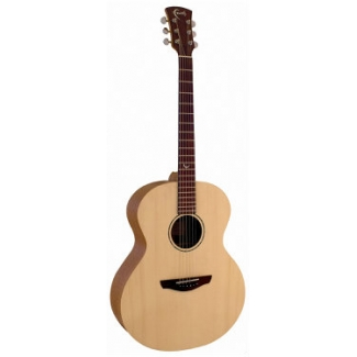 Faith FKN Naked Neptune Baby Jumbo Acoustic Guitar