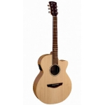 Faith FKV Naked Venus Electro Acoustic Guitar in Natural Satin, Secondhand