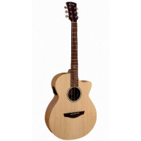 Faith FKV Naked Venus Electro Acoustic Guitar in Natural Satin