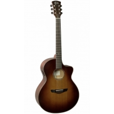Faith FNCESB45 Neptune Classic Burst Cutaway Electro Acoustic With Case