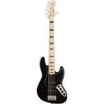 Fender American Deluxe Jazz Bass V, Black