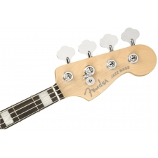Fender American Elite 4-String Jazz Bass in Satin Jade Pearl Metallic inc Case