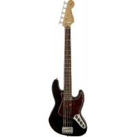 Fender Deluxe Active Jazz Bass V (Five String), Black