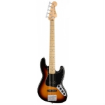 Fender Deluxe Active Jazz Bass V (Five String), Sunburst
