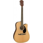 Fender FA125CE Dreadnought Electro Acoustic Guitar, Natural