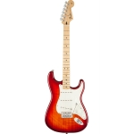 Fender Mexican Made Standard Stratocaster Plus Top In Aged Cherry Burst