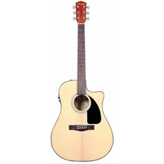 Fender CD60CE Electro Acoustic Guitar in Natural