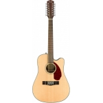 Fender CD140SCE 12 - 12-String Electro-Acoustic Guitar, Natural