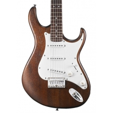 Cort G100 Electric Guitar, Open Pore Walnut