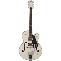 """Gretsch G5410T Electromatic """"Rat Rod"""" with Bigsby, Matte Vintage White"""