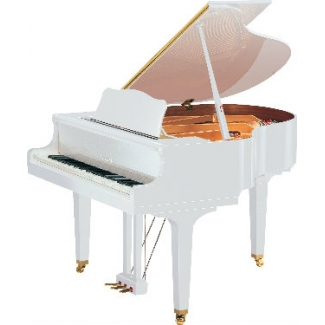 Yamaha GB1-SG2 Silent Grand Piano in Polished White
