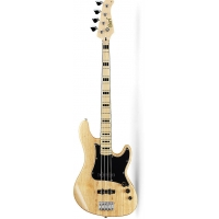 Cort GB54JJ 4-String Bass Guitar, Natural