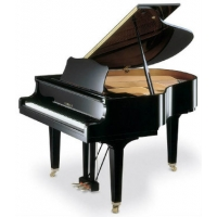 Yamaha GC1-SH Silent Grand Piano in Polished Ebony