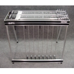 GFI D10U Ultra Double Neck Pedal Steel Guitar With Hard Case