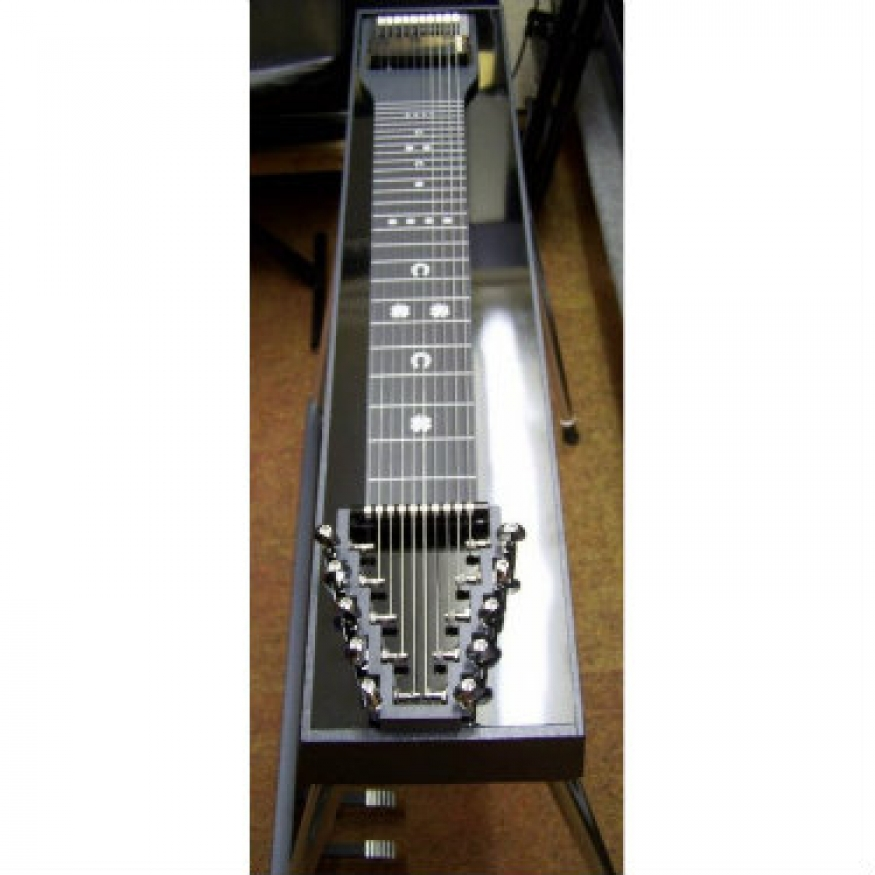 gfi s10e expo single neck pedal steel guitar with pad and hard case at promenade music. Black Bedroom Furniture Sets. Home Design Ideas