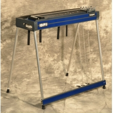 GFI S10PE Expo Single Neck Pedal Steel guitar in Blue with Pad & Hard Case