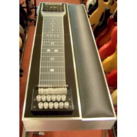 GFI S10PKU Keyless Ultra Single Neck Pedal Steel Guitar With Pad & Hard Case
