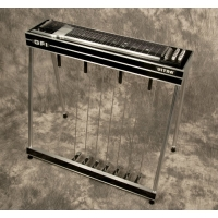 GFI S12KU Keyless Ultra Single Neck Pedal Steel Guitar With Hard Case