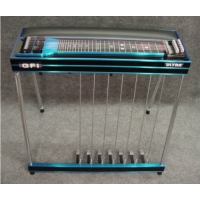 GFI S12PKU Keyless Ultra Single Neck Pedal Steel Guitar With Pad & Hard Case