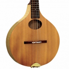 Ashbury Rathlin Ash Solid Top Mandolin in Natural (GR31101) ,Cracked Tailpiece
