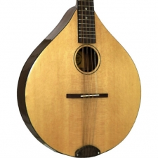 Ashbury Style E Octave Mandola with All Solid Wood in Natural inc Case (GR32016)