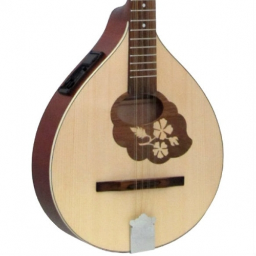 Blue Moon BB15E All Solid Wood Electro Acoustic Irish Bouzouki (GR33002)