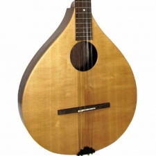 Ashbury Rathlin Irish Bouzouki with Solid Spruce Top in Natural (GR33013)