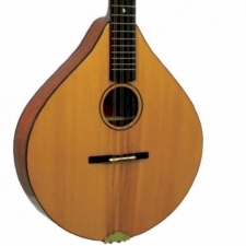 Ashbury Irish Style E All Solid Wood Bouzouki in Natural with Case (GR33016)