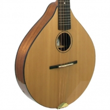 Ashbury Celtic Cittern With All Solid Wood in Natural with Case (GR34016)