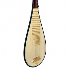 Atlas Pipa, Traditional Chinese 4 String Lute with Case (GR36026)