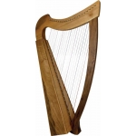 Glenluce Fiddlewood 22 String Harp with 22 levers (GR60031W)