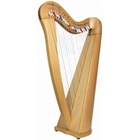 Glenluce Black Loch 22 String Harp with 22 Cam Levers (GR60052)