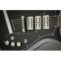 Gretsch G5135 CVT PS Stump-O-Matic Electric Guitar in Black