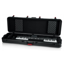 Gator TSA-SL Slim 88-note Keyboard Case w/ Wheels GTSA-KEY88SL