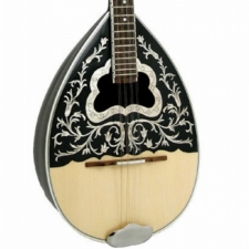 Sakis Model 2 Bouzouki With Solid Top, Handmade in Greece (GX33011)